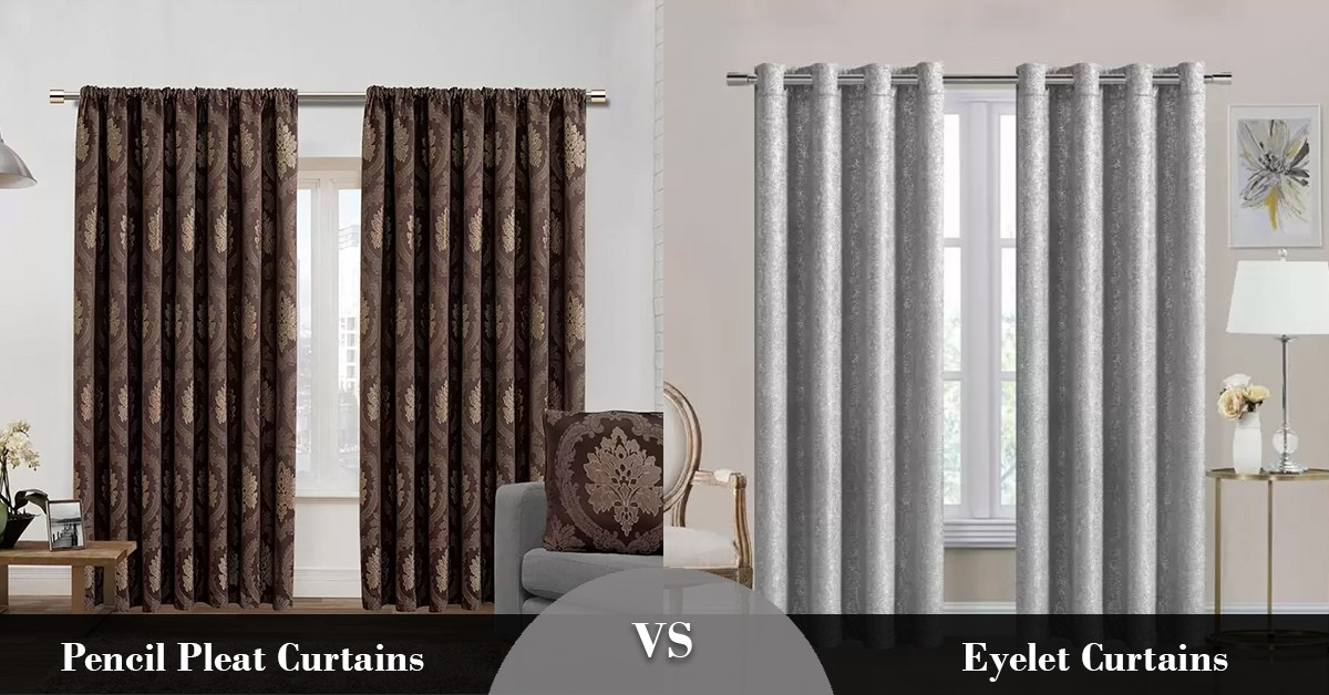 Pencil Pleat Curtains Vs Eyelet Curtains Trends Wide