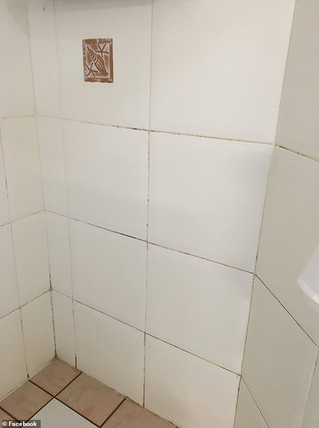 Mum's genius grout cleaning trick leaves her bathroom walls sparkling clean in seconds