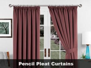 Pencil Pleat Curtains VS. Eyelet Curtains