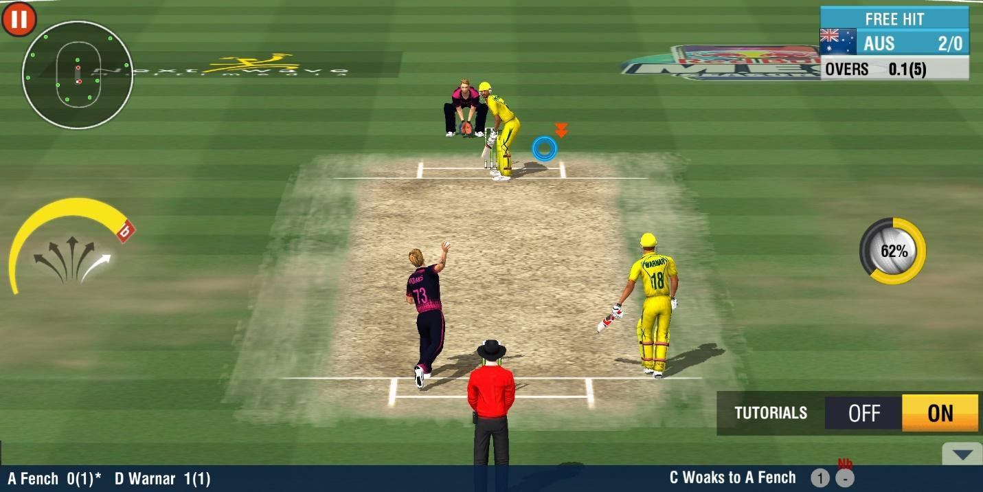Play World Cricket Championship 2 on PC with Games.lol Now