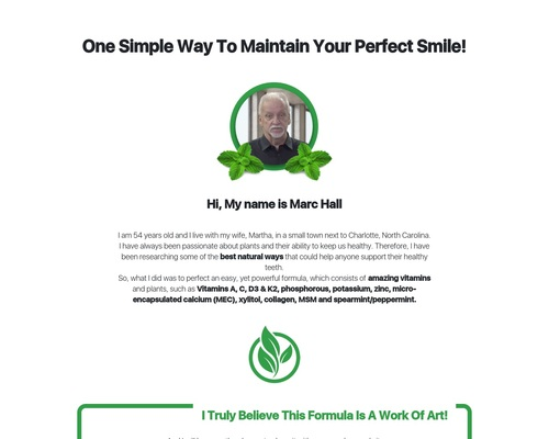 Dentitox Pro - Text Presentation Reviews