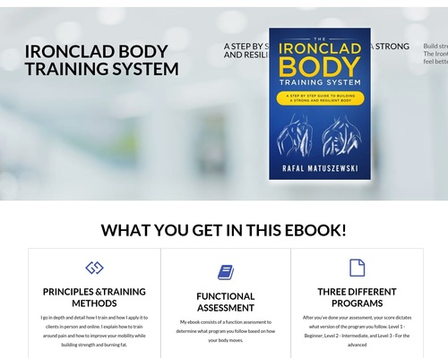 Ironclad Physique Coaching System Book Evaluations